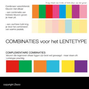 Combinaties Lente Type